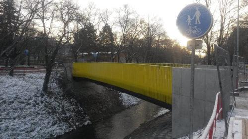 Cena nového mostu je necelých 7 mil. Kč.