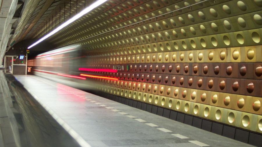 Stanice metra Muzeum.