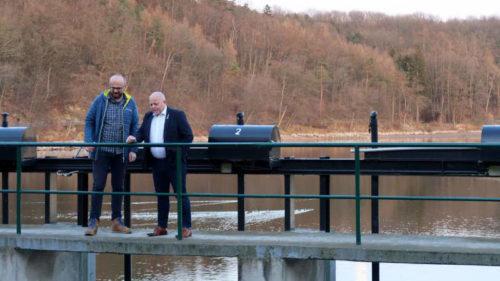 Radní Libor Hadrava navštívil Hostivařskou přehradu.