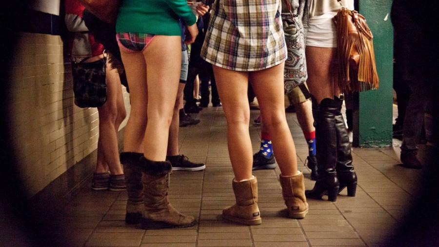 Jízda metrem bez kalhot se uskuteční hned v několika mstech světa.
