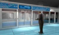 Vizualizace možné budoucí podoby jedné ze stanice metra D.