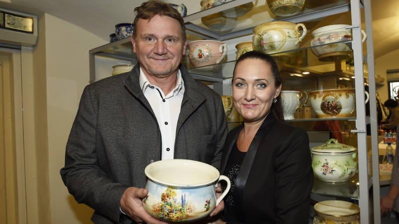 Majitelé muzea Jan a Renáta Sedláčkovi.