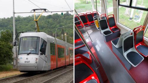 Tramvaj Škoda 14T prošla renovací.