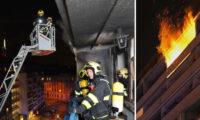 Hasiči dorazili na místo požáru ve čtvrtek krátce před půlnocí.