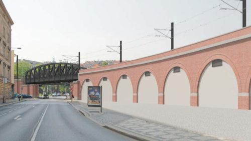 Negrelliho viadukt po rekonstrukci.