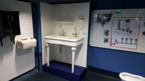 Největší ohlas vzbudilo vybavení koupelny z 30. let minulého století.