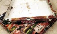 Mastné krabice od pizzy do kontejneru na papír nepatří.