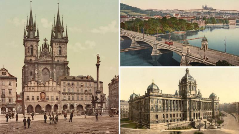 Praha na konci 19. století vypadala trochu jinak, než ji známe dnes.