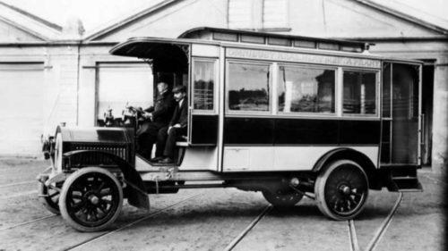 Autobus Laurin & Klement HOP.