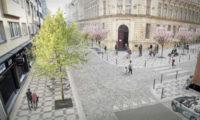 Vítězný návrh na revitalizaci ulice Františka Křižíka od architekta Josefa Hlavatého.