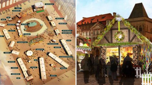 Velikonoční trhy začínají v Praze už za pár dní.