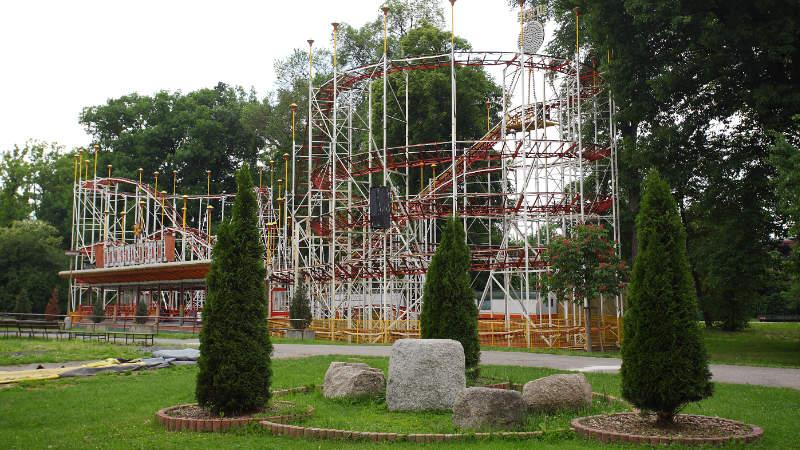 Horskou dráhu vyrobili v Itálii v roce 1963. V Praze stojí od roku 1973.