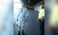 Neposlušný pacient utekl z nemocnice krátce po operaci.