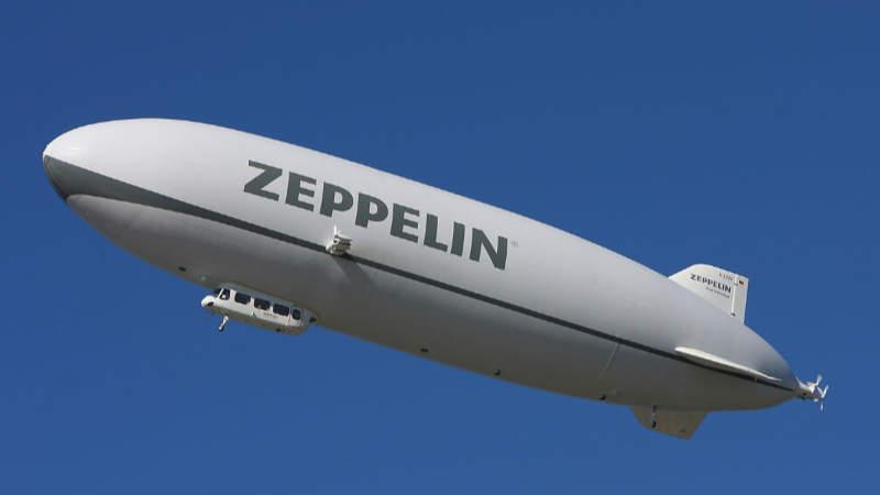 Vzducholoď Zeppelin NT.