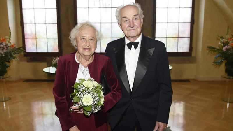 Manželé Květuše a Karel Srbečtí.