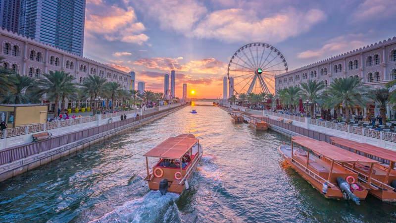 Šardžá je třetím největším městem Spojených arabských emirátů.