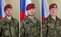 Padlí hrdinové z Afghánistánu.