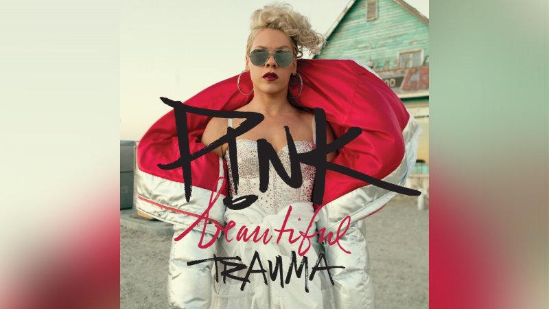 Obal v pořadí sedmého studiového alba zpěvačky Pink.
