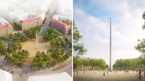 Praha vybrala novou podobu Vítězného náměstí. Dominantou bude obelisk 833c1cce5c3