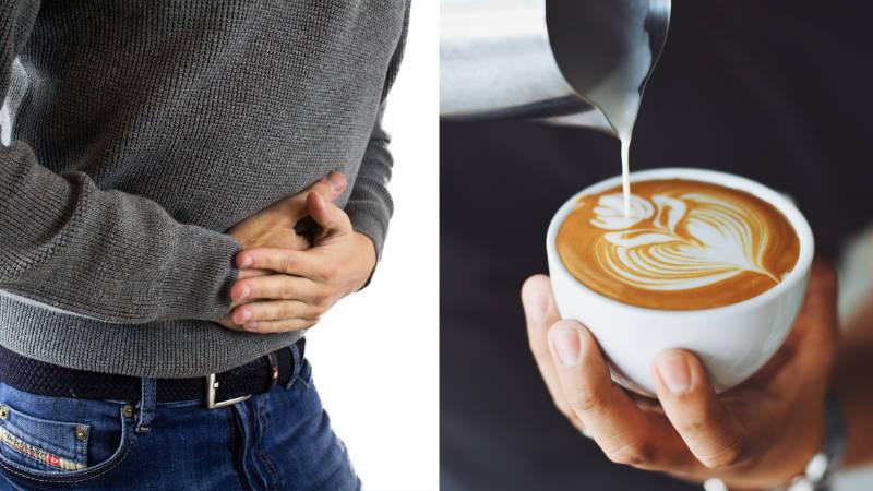 Pití kávy s mlékem může být pro zdraví vysoce nebezpečné.