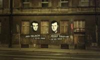 Borůvkovo sanatorium v Legerově ulici již delší dobu chátrá. Jana Palacha a Josefa Toufara připomíná kresba designéra Otakara Duška.