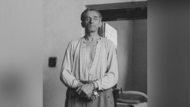 Karl Hermann Frank ve vězení.