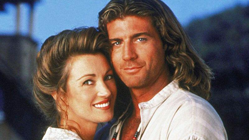 Jane Semour a Joe Lando vytvořili v seriálu pár.