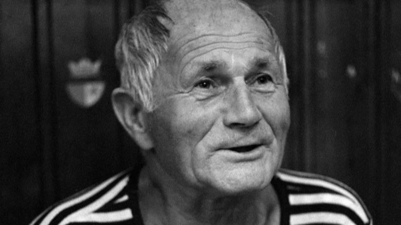 Bohumil Hrabal na fotografii z roku 1985.
