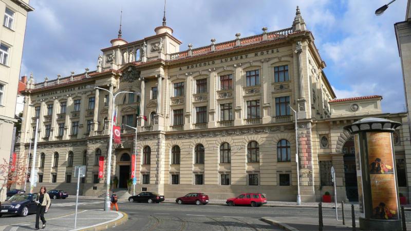 Hotel Carlo IV. na Senovážném náměstí v Praze.