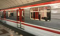 Souprava pražského metra