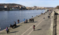 Pražská náplavka v sobotu 6. března